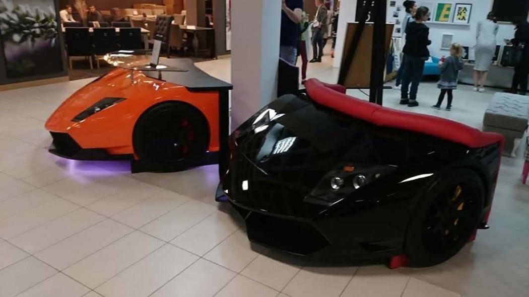The 11 890 Lamborghini Sofa Is The Perfect Addition To A