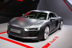 Audi's exclusive Final Fantasy XV R8 enters in boss mode