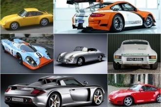 7 most iconic Porsche cars