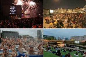 9 coolest theaters collage