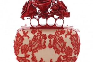 Alexander McQueen rosy-fingered clutch 1