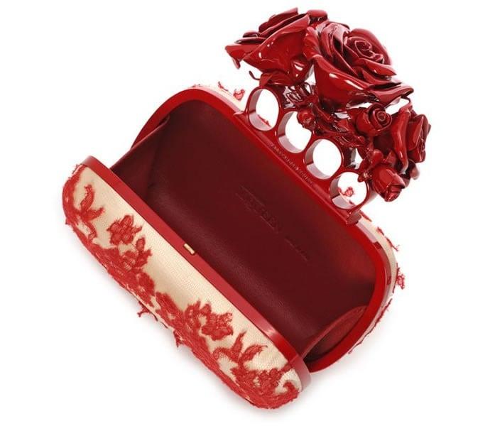 Alexander McQueen rosy-fingered clutch 4