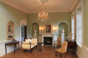 Anglia Dolls House Wisbech House Drawing Room - shown furnished