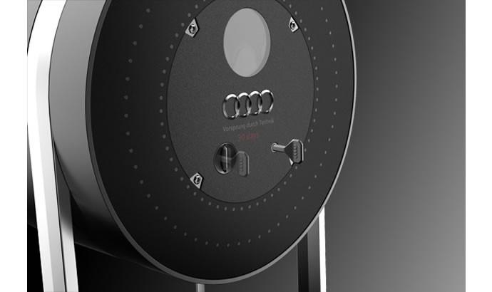 Audi timepiece clock 3
