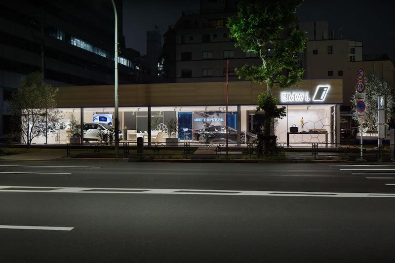 BMW i showroom in Tokyo 5
