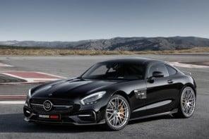Brabus tunes Mercedes-AMG GT1