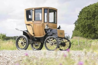 Century old electric car