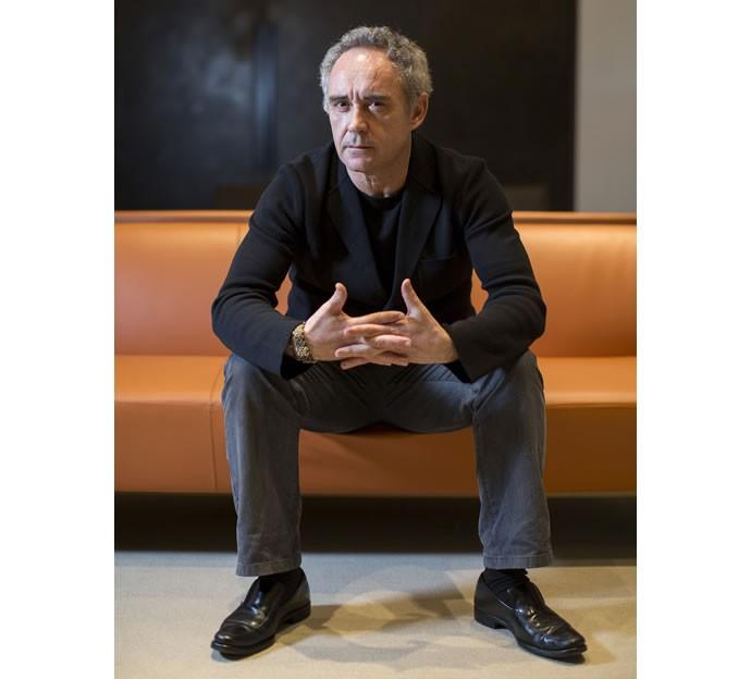 Chef Ferran Adriá