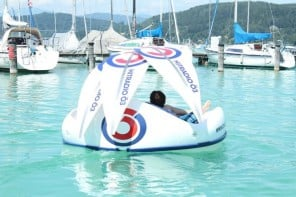 Chilli Island electric mini-boat 2