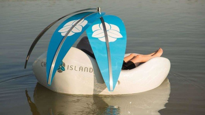 Chilli Island electric mini-boat 4