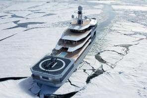 Damen's mega yacht 1