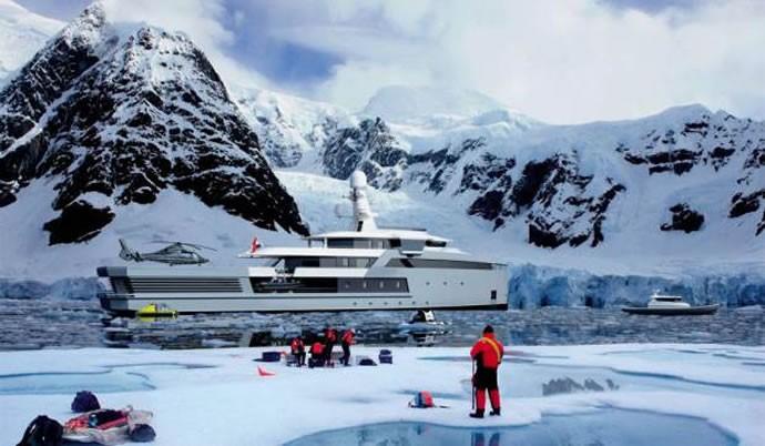 Damen's mega yacht 2