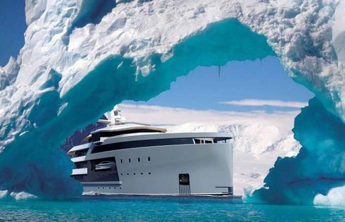 Damen's mega yacht 3