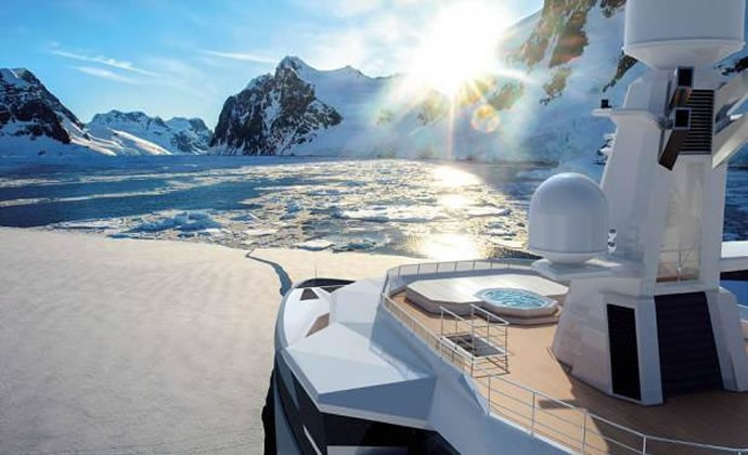 Damen's mega yacht 5