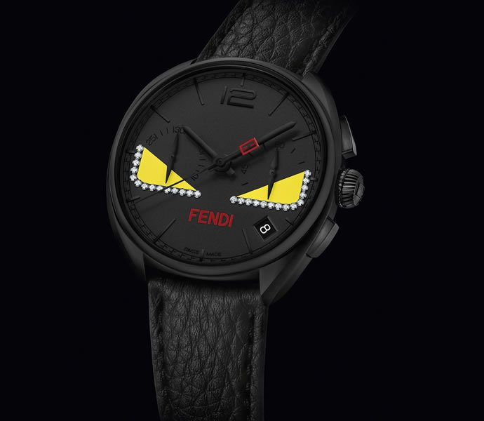 c94ad50251de Fendi Bag Bugs make in on the face of Momento Fendi watches -