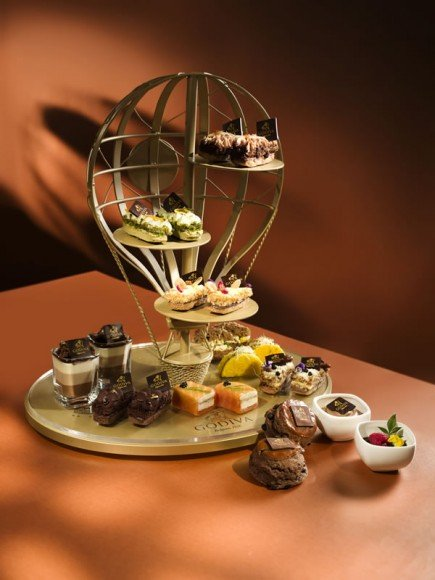 Godiva Sabl Afternoon Tea