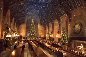 Hogwart's Great Hall sets of Harry Potter