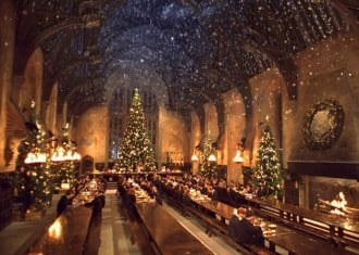Hogwart's Great Hall sets of Harry Potter