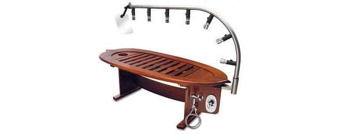 Hydroco HydroWood spa table 2