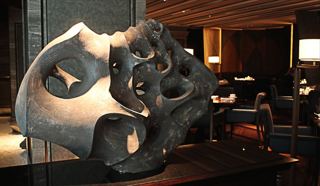 One of the 409 works of art on display at The Ritz-Carlton Kyoto