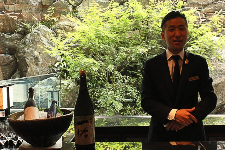Afternoon of tippling with Sake-somm at Kyoto's Ritz-Carlton