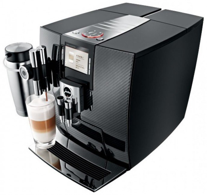 Jura J95 automatic coffee center 2