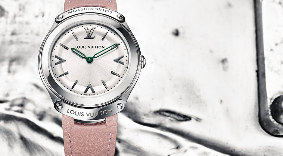 Louis Vuitton LV Fifty Five its first unisex watch ...