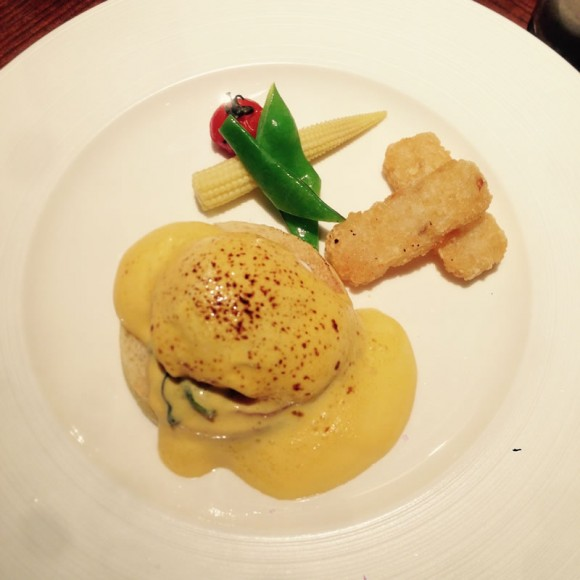 La Locanda at its eggcellent best