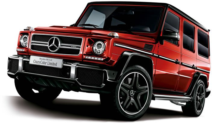 the crazy color edition mercedes benz g63 amg for japan. Black Bedroom Furniture Sets. Home Design Ideas
