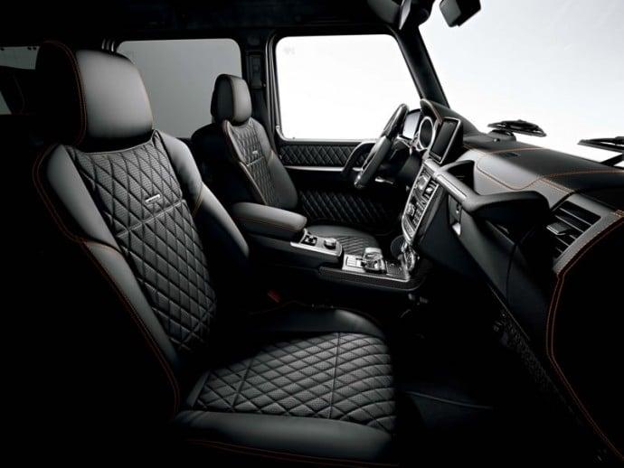 Mercedes-Benz G-Class SUVs 7