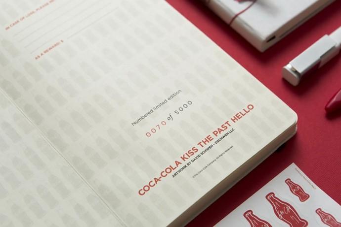 Moleskine Coca-Cola Bottle and notebooks-5