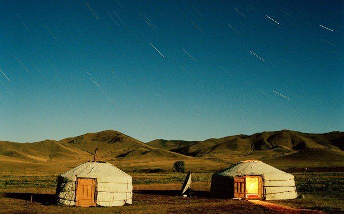 Nomadic Ger Camp in Mongolia