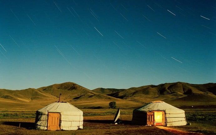 Nomadic Ger Camp in Mongolia