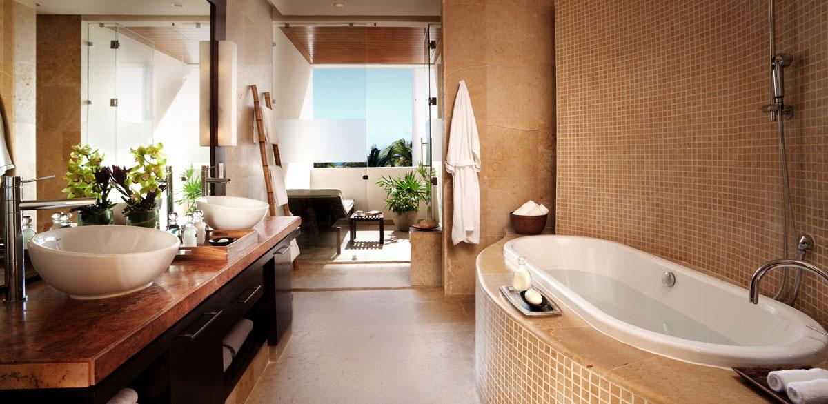 Oceanview Suite at the Rosewood Mayakoba
