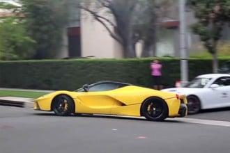 Qatari Sheikh La-Ferrari in Beverly Hills