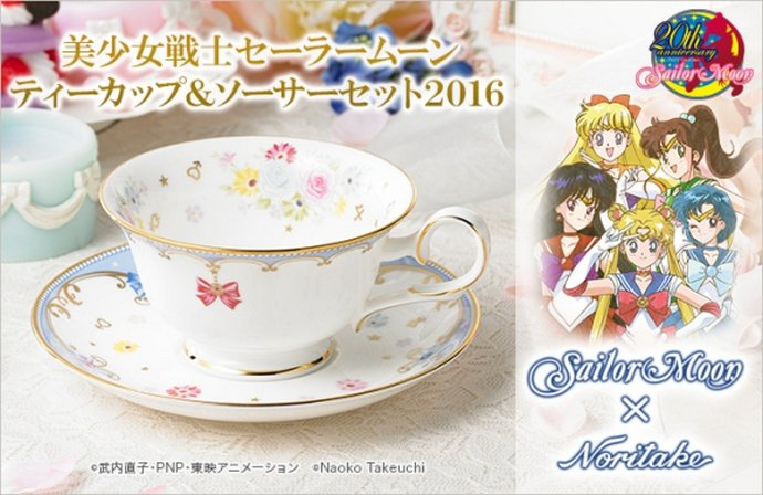 Anime favorite Sailor Moon girls collaborates with Noritake tableware  sc 1 st  Luxurylaunches & Anime favorite Sailor Moon girls collaborates with Noritake tableware -