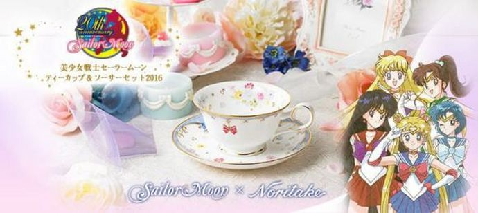 Sailor Moon girls Noritake tableware 8