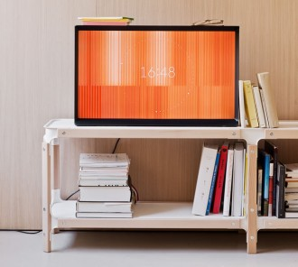 Serif TV from Samsung and Ronan & Erwan Bouroullec 3