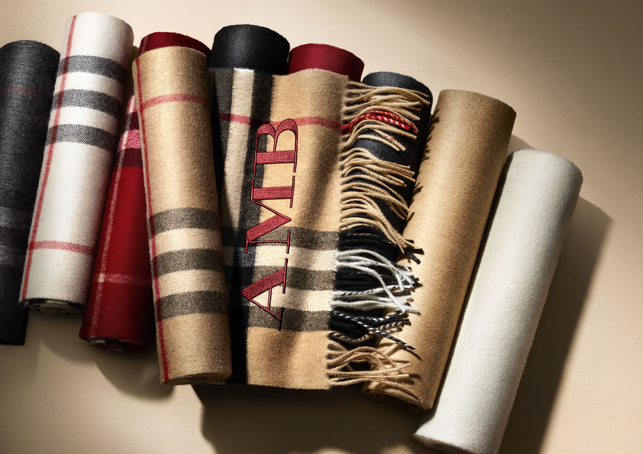 Burberry Launches A Scarf Bar And Upgrades Its Ponchos