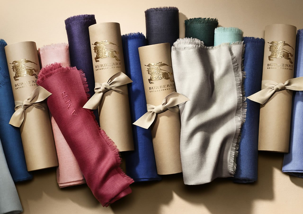 The Burberry Scarf Bar - Lightweight Cashmere Scarves