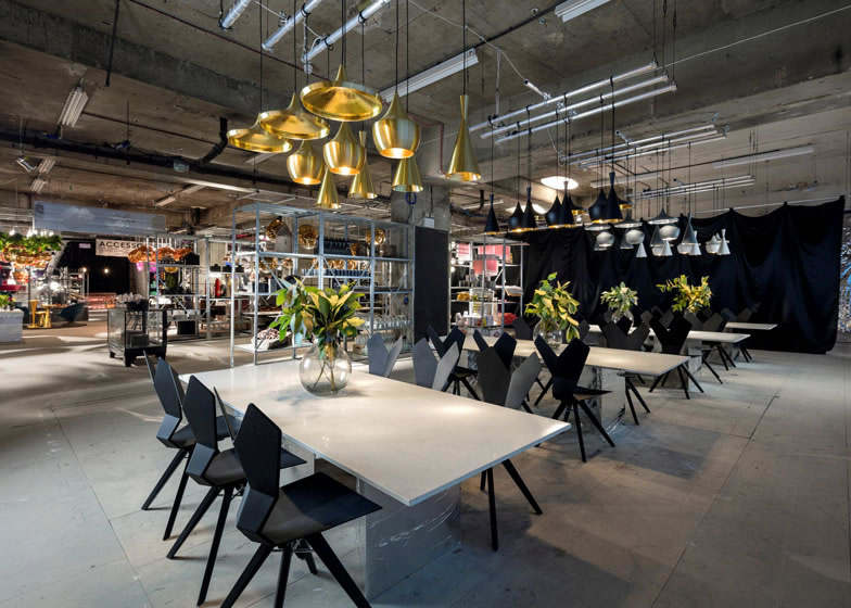 Tom dixon s new fangled pop up concept will debut at the for Modern furniture stores london