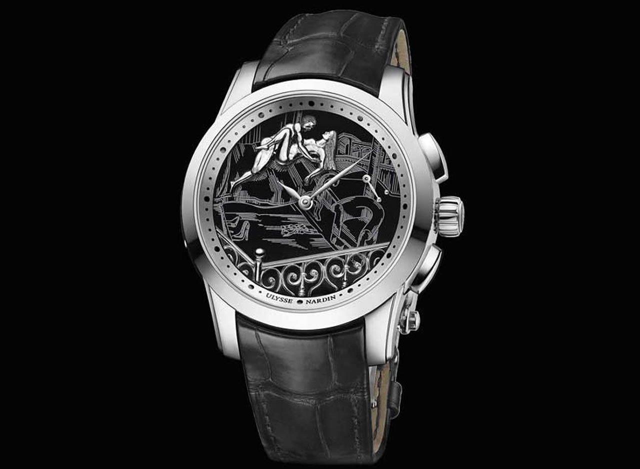 Ulysse Nardin's Hourstriker Erotica Jarretière is a seductive piece of watchmaking brilliance -