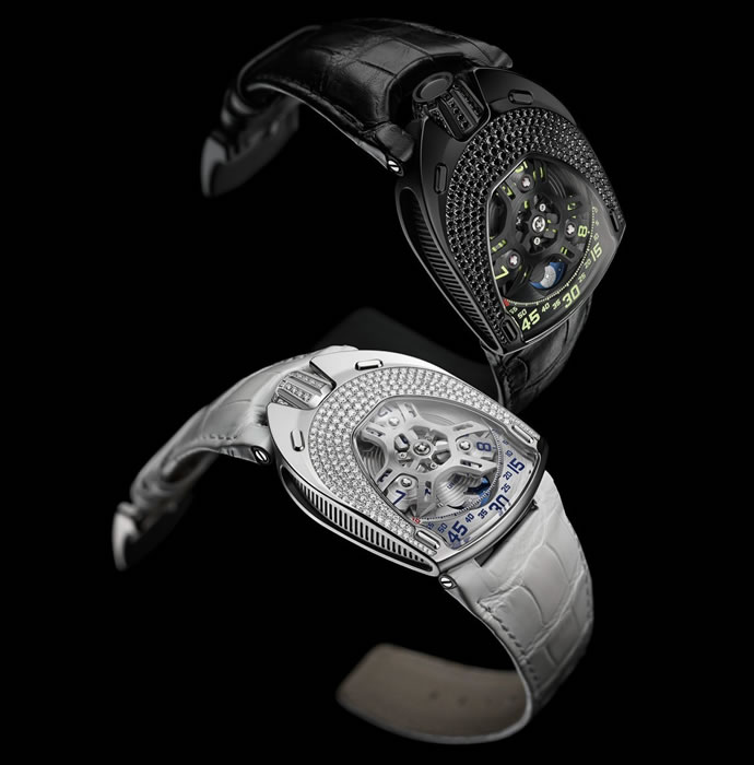 Urwerk UR-106 Lotus Is First Women Watch 1