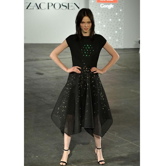 Zac Posen and Google LED dress