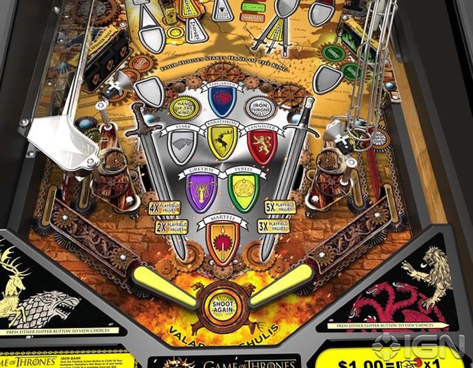 of thrones pinball machine