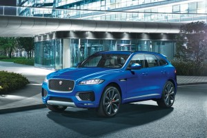 Jaguar's first SUV, the F-Pace, is a raging beast in a ...