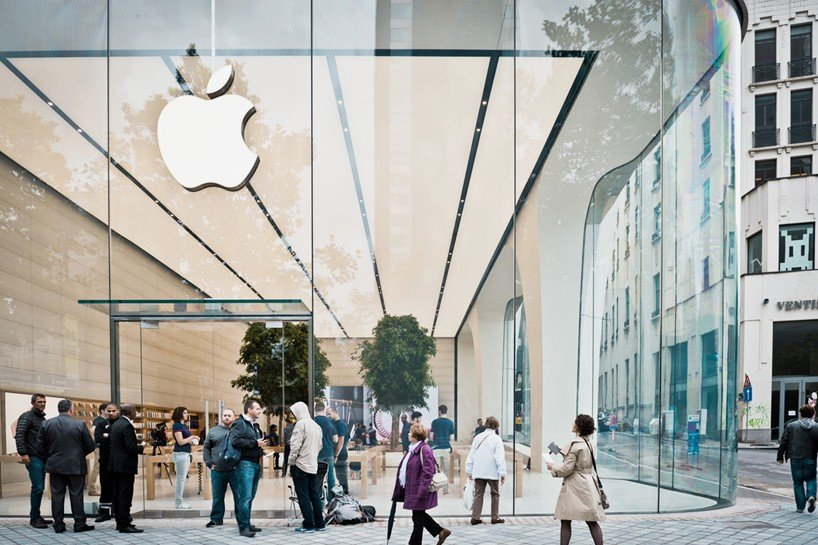 Take A Look At An Apple Store Designed By None Other Than