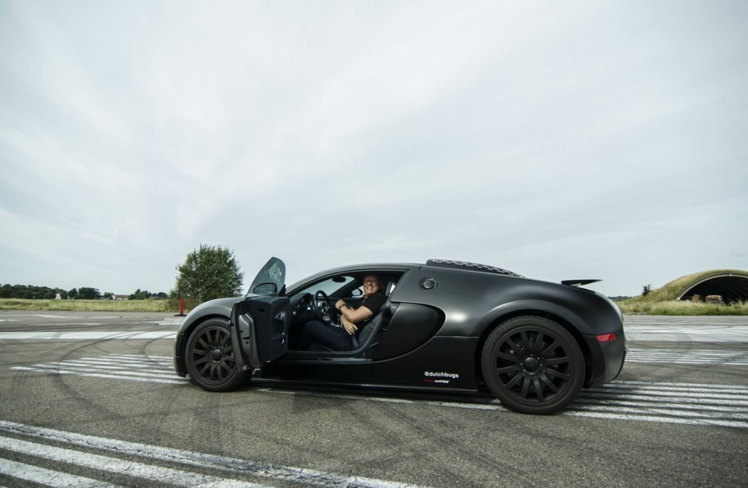 Christian Von Koenigsegg Races In A Bugatti Veyron Against