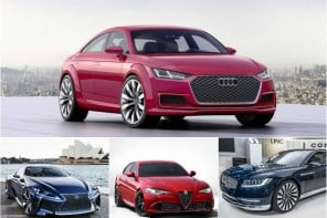 10 Luxury cars 2016 collage