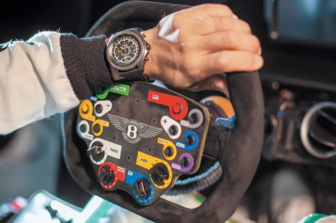 Breitling tribute to Bentley 2